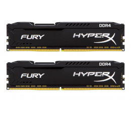 HyperX 16GB 2400MHz Fury Black CL15 (2x8GB) (HX424C15FBK2/16 / HX424C15FB2K2/16 )