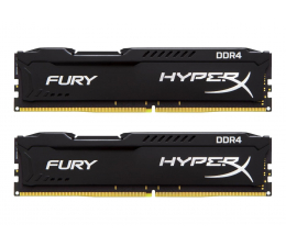 HyperX 8GB 2666MHz Fury Black CL15 (2x4096) (HX426C15FBK2/8)