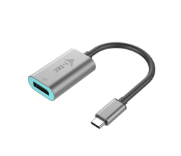 i-tec Adapter USB - C - DisplayPort 4k 60Hz (C31METALDP60HZ)
