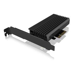 ICY BOX Karta PCIe M.2 M-Key dla 1 dysku SSD M.2 NVMe (IB-PCI214M2-HSL)