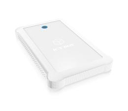 """ICY BOX Obudowa do dysku 2.5"""" (USB 3.0, biały)  (IB-233U3-Wh)"""