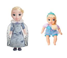 Jakks Pacific Disney Frozen Śpiewająca Elsa + Elsa Baby  (25369 31026)
