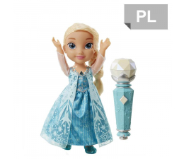 Jakks Pacific Disney Frozen Śpiewająca Elsa z mikrofonem (96378)