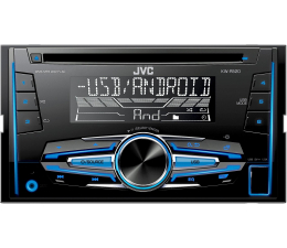 JVC JVC KW-R520 2 DIN CD USB AUX Multikolor (KW-R520)
