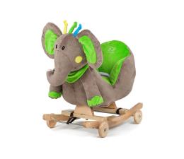 KinderKraft Grający Słoń na biegunach zielony (KKSLBGN0000000)
