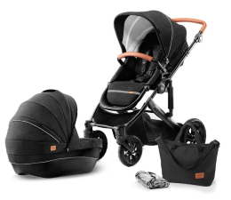 Kinderkraft Prime 2w1 Black (5902533911936)