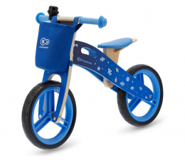 Kinderkraft Rowerek biegowy Runner Galaxy Blue + akcesoria  (KKRRUNGBLU00AC)