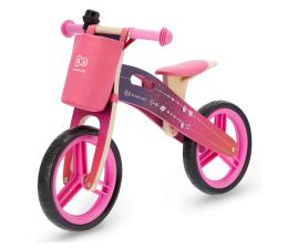 Kinderkraft Rowerek biegowy Runner Galaxy Pink + akcesoria (KKRRUNGPNK00AC )