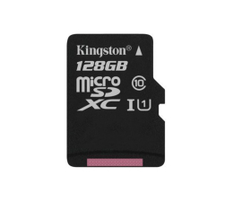 Kingston 128GB microSDXC Canvas Select 80MB/s C10 UHS-I (SDCS/128GB)