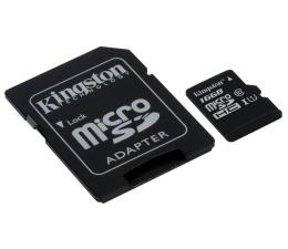 Kingston 16GB microSDHC Class10 zapis 10MB/s odczyt 45MB/s (SDC10G2/16GB)