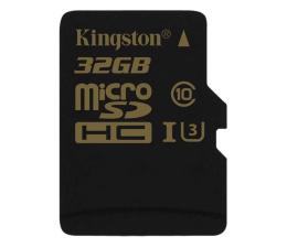 Kingston 32GB microSDHC UHS-I U3 zapis 45MB/s odczyt 90MB/s (SDCG/32GB)