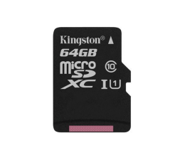 Kingston 64GB microSDXC Canvas Select 80MB/s C10 UHS-I  (SDCS/64GB )