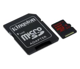 Kingston 64GB microSDXC UHS-I U3 zapis 80MB/s odczyt 90MB/s (SDCA3/64GB )