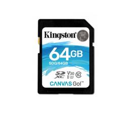 Kingston 64GB SDXC Canvas Go! 90MB/s C10 UHS-I U3  (SDG/64GB )