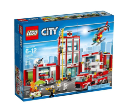 LEGO City Remiza Strażacka (60110)