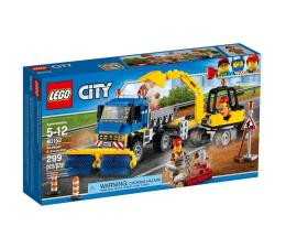 LEGO City Zamiatacz ulic i koparka (60152)