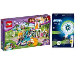 LEGO Friends Basen w Heartlake + Oral-B Pro 750 (343307+320203)