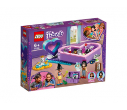 LEGO Friends Pudełko w kształcie serca zestaw przyjaźni (41359)
