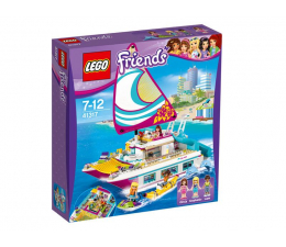 LEGO Friends Słoneczny Katamaran (41317)