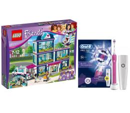 LEGO Friends Szpital w Heartlake + Oral-B PRO 750 Pink (367052+320204)