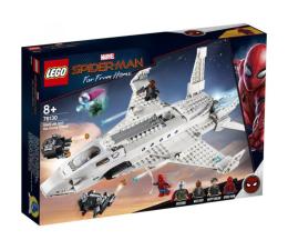LEGO Marvel Spider-Man Odrzutowiec Starka i atak dronów (76130)
