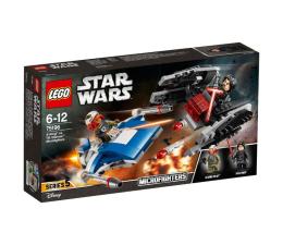 LEGO Star Wars A-Wing kontra TIE Silencer (75196)