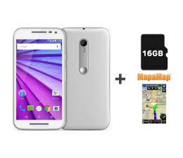 Lenovo Moto G 3rd Gen. LTE +Karta pamięci 16GB +Nawigacja (SM4269AD1T1 WHITE)