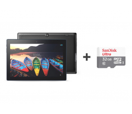 Lenovo Tab 3 10 Plus MT8732/2GB/48GB/Android 6.0 LTE  (ZA0Y0042PL+SDSQUNS-032G-GN3MN)