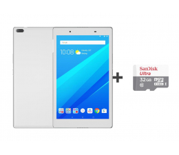 Lenovo TAB 4 8 APQ8017/2GB/48GB/Android 7.0 WiFi Biały  (ZA2B0063PL+SDSQUNB-032G-GN3MN)