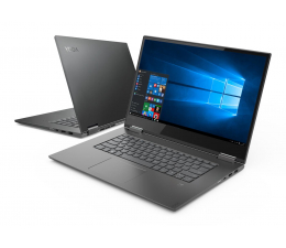 Lenovo YOGA 730-15 i5-8250U/16GB/256/Win10 GTX1050 Szary  (81CU004VPB)