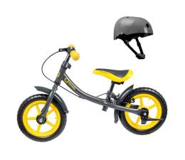 Lionelo Dan Plus Yellow + Kask (5902581651815)