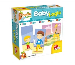 Lisciani Giochi Carotina Baby Logic Wysoki Czy Niski? (304-65400)
