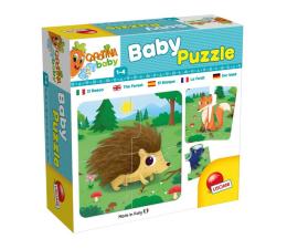 Lisciani Giochi Carotina Baby Puzzle W Lesie (304-65417)