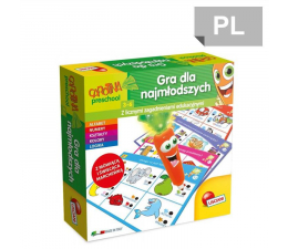 Lisciani Giochi Carotina Zagadnienia edukacyjne (304-P54862)