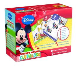 Lisciani Giochi Disney Karty do gry Klub Myszki Mickey (304-40605)