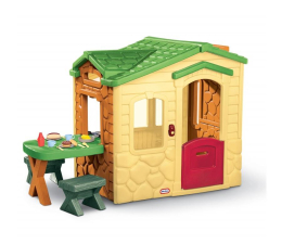 Little Tikes Domek z patio Natural (0050743172298)