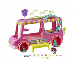 Littlest Pet Shop Food Truck Zwierzaków (E1840)