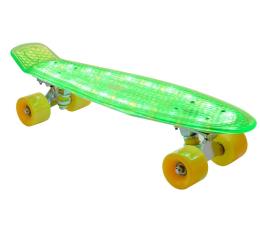 Madej Deskorolka fiszka świecąca zielona (075886)