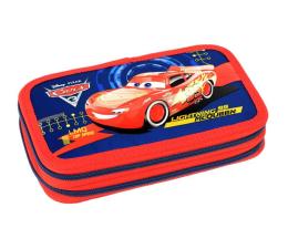 Majewski Disney Cars 3 Piórnik podwójny z wyposażeniem (5903235292163)