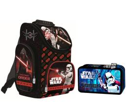 Majewski Disney Tornister Star Wars VIII Red + piórnik (21910 22009)