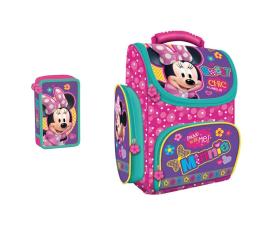 Majewski Disney Tornister szkolny Minnie + piórnik (03862 03886)