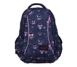 Majewski Emoji Plecak 3-komorowy Pink BP-26 (5903235207419)