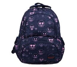 Majewski Emoji Plecak 4-komorowy Pink BP-07 (5903235207334)