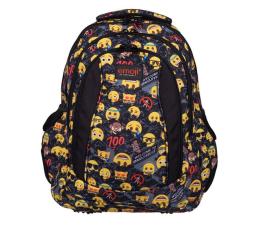 Majewski Emoji Plecak 4-komorowy Yellow II BP-04 (5903235206030)
