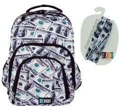 Majewski ST.Right Plecak szkolny Dollars BP-25 (5903235617201)