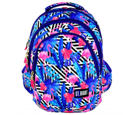 Majewski ST.Right Plecak szkolny Flamingo Blue BP-06 (5903235612770)