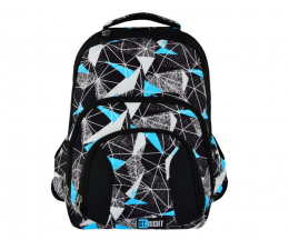 Majewski ST.Right Plecak szkolny Net Blue BP-25 (5903235618116 )