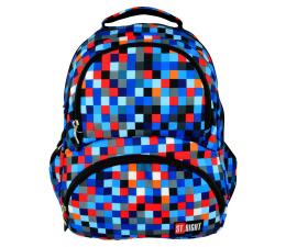 Majewski ST.Right Plecak szkolny Pixelmania Blue BP-07 (5903235612022)