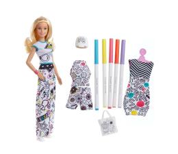 Mattel Barbie Crayola Zestaw Kolorowa moda z lalką (FPH90)