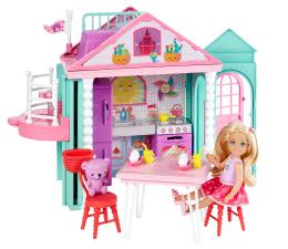 Mattel Barbie Dreamtopia Domek zabaw Chelsea z lalką (DWJ50)